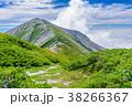 山 山岳 稜線の写真 38266367