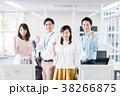 ビジネスマン ビジネスウーマン オフィスの写真 38266875