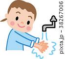 手洗い 子供 イラスト 38267006