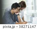 勉強 男子学生 キャンパスライフの写真 38271147