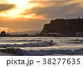 波 海 サーフィンの写真 38277635