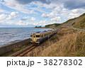列車 鉄道 乗り物の写真 38278302
