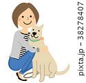 人物 女性 ママのイラスト 38278407