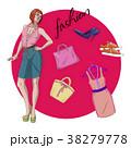 服 服装 衣服のイラスト 38279778