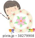 子供 女の子 少女のイラスト 38279908