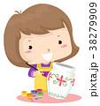 子供 女の子 少女のイラスト 38279909