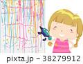 子供 女の子 少女のイラスト 38279912