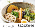 スープカレー 食べ物 スープの写真 38285049