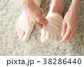 女性 靴下 五本指靴下の写真 38286440