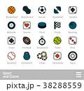 アイコン イコン ロゴのイラスト 38288559