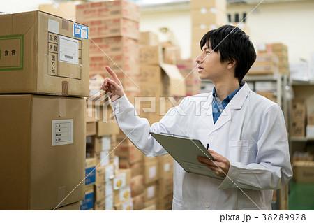倉庫 在庫 確認 医療 38289928