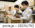 倉庫 作業 男性の写真 38291762
