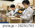 倉庫 作業 男性の写真 38291763