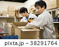 倉庫 作業 男性の写真 38291764