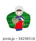 茶摘み 八十八夜 茶畑のイラスト 38296516