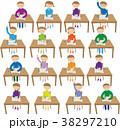 学校 教室風景 38297210