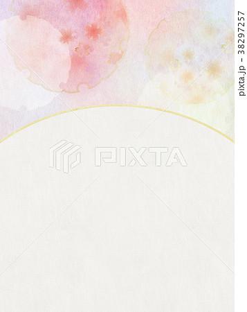 背景-桜-和紙-春 38297257