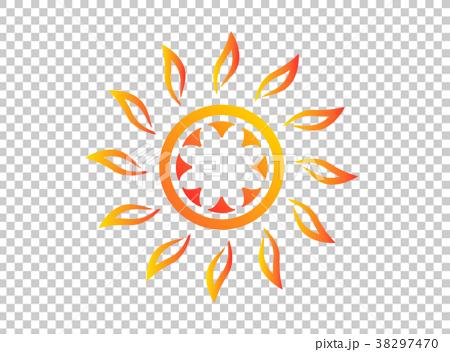 Midsummer sun   Symbol 38297470