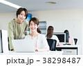 ビジネスウーマン ビジネス デスクワークの写真 38298487