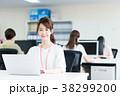 ビジネスウーマン ビジネス デスクワークの写真 38299200