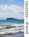 波 海岸 江ノ島の写真 38302065