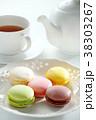マカロンと紅茶 38303267