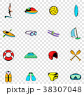 Water Sport set icons 38307048