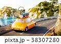 車 自動車 トラベルのイラスト 38307280