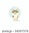 ネコ 子猫 ベクトルのイラスト 38307378