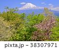 風景 富士山 山の写真 38307971