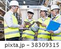 男性 倉庫 作業員の写真 38309315