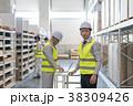 男性 倉庫 作業員の写真 38309426