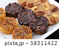 焼き菓子 クッキー お菓子の写真 38311422