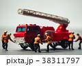 消防車とミニチュア 38311797
