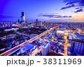大阪 街並み 都市風景の写真 38311969