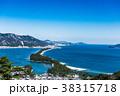 天橋立 冬 雪景色の写真 38315718