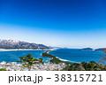 天橋立 冬 雪景色 38315721