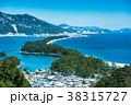 天橋立 冬 雪景色の写真 38315727