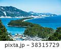 天橋立 冬 雪景色の写真 38315729