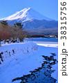 風景 富士山 河口湖の写真 38315756