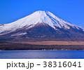 山中湖と富士山-777171 38316041