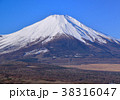山中湖畔からの富士山-777184 38316047