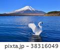 山中湖畔からの風景-777187 38316049