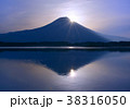 田貫湖と富士山-777469 38316050