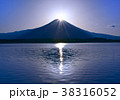 田貫湖とダイヤモンド富士-777471 38316052