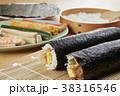 巻き寿司 寿司 食べ物の写真 38316546