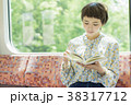 人物 女性 読書の写真 38317712