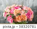 花束 カラフル 色とりどりの写真 38320781