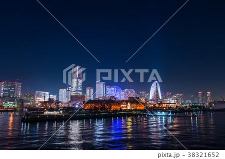 《神奈川県》横浜・みなとみらいの夜景 38321652