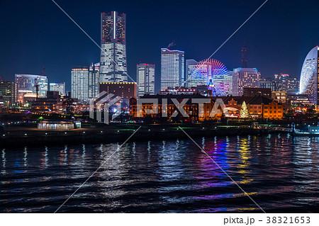 《神奈川県》横浜・みなとみらいの夜景 38321653